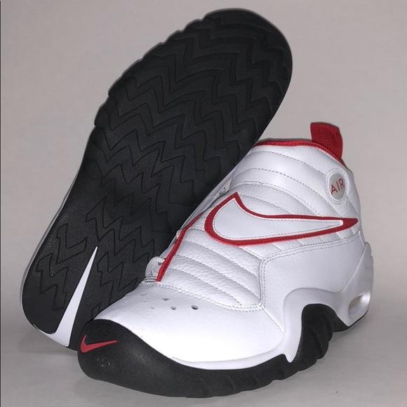 64c93a58c84a NIB Mens Nike Air Shake Ndestrukt White   Red